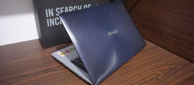 Tampilan bodi laptop ASUS A456UQK (sumber: eksekutifcomputer.com)
