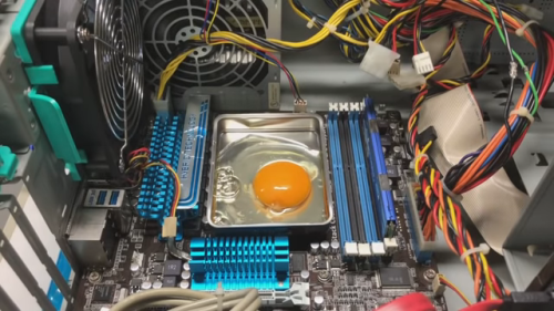 How to cook with a CPU
