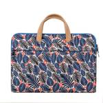 Floral Print Laptop Bag