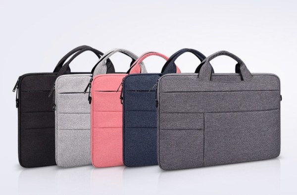 Morgan laptop bags in formation