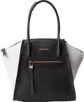 Calvin Klein Key Item Saffiano Satchel Top Handle Bag Review