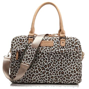 Kayond Cute Leopard Spots Laptop Bag For Women
