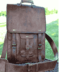 PL Vintage Leather Laptop Messenger Bag Review