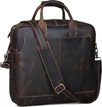Texbo Genuine Leather Men Laptop Briefcase Review
