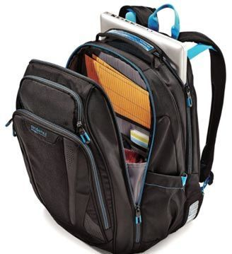 Internal Design of Samsonite Luggage Vizair Laptop Backpack