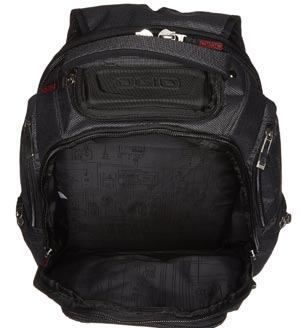 Internal design of OGIO Renegades RSS Laptop Backpack