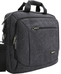 Evecase Canvas Laptop Messenger Bag
