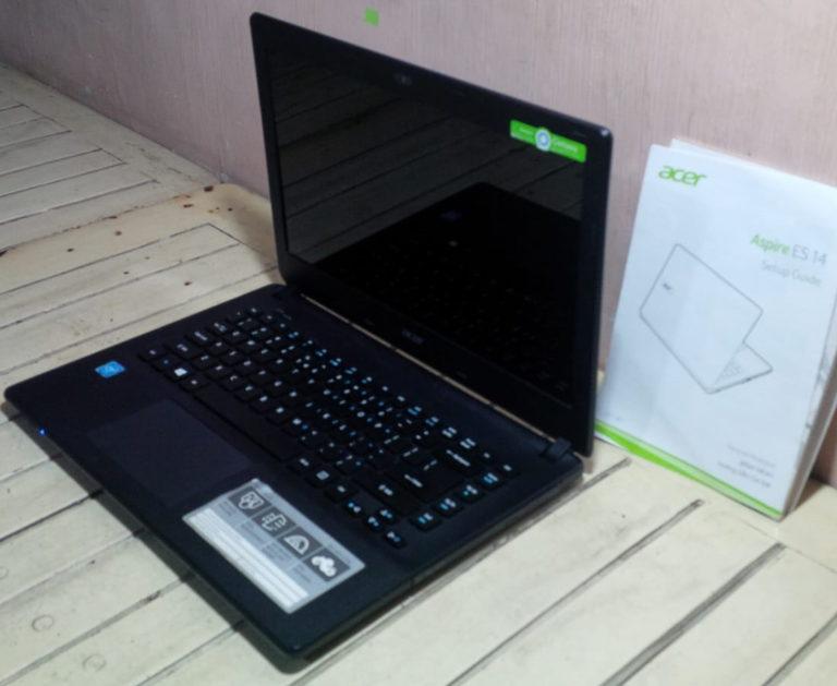 jual laptop bekas acer es-14 di malang