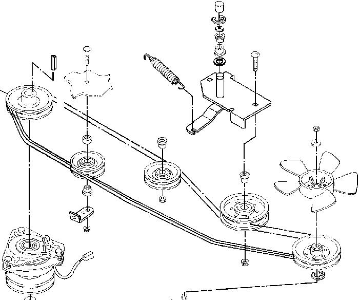 Deck John Diagram Lt150 Belt Deere