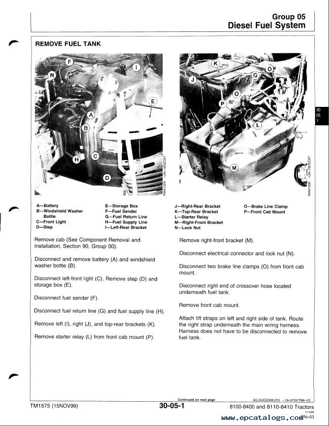 john deere 6310 wiring diagram