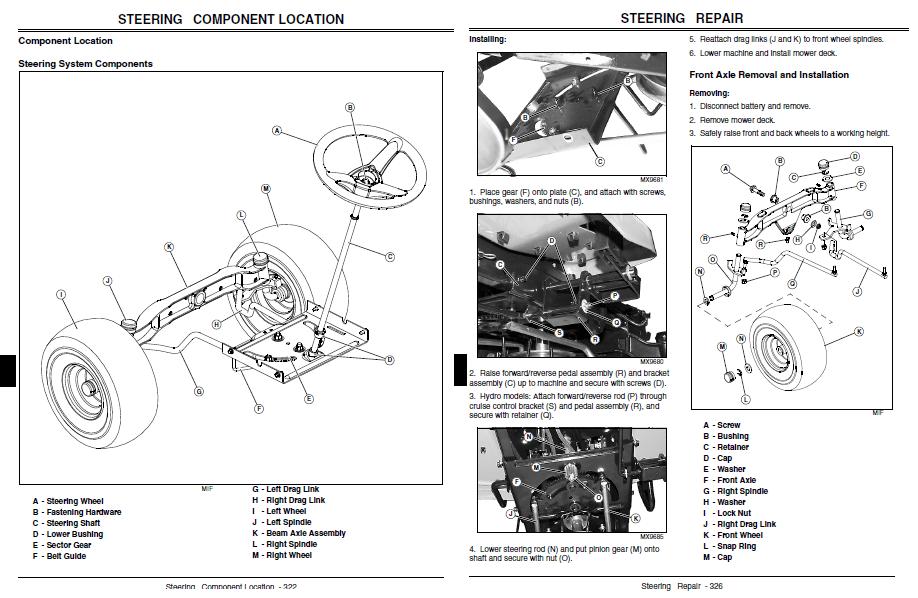 John deere l100 parts manual download