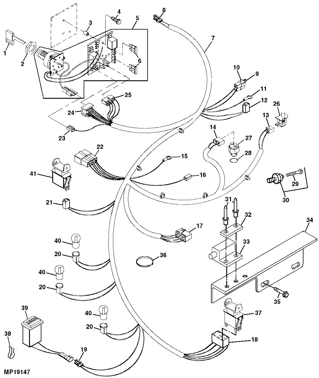 John Deere 3320 Wiring Schematic : 32 Wiring Diagram
