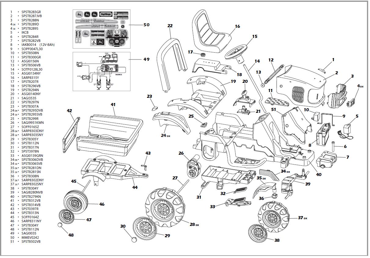 John Deere E Parts