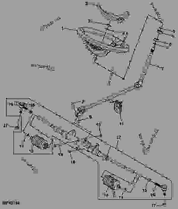 Wiring Diagram: 34 John Deere Gator 825i Parts Diagram