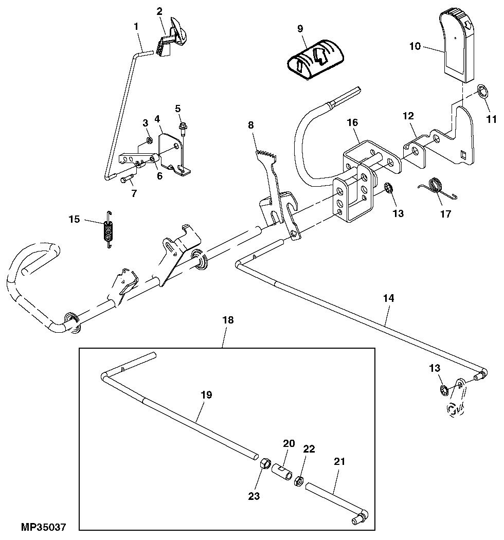 John Deere L130 Steering Parts Schematic. John. Tractor