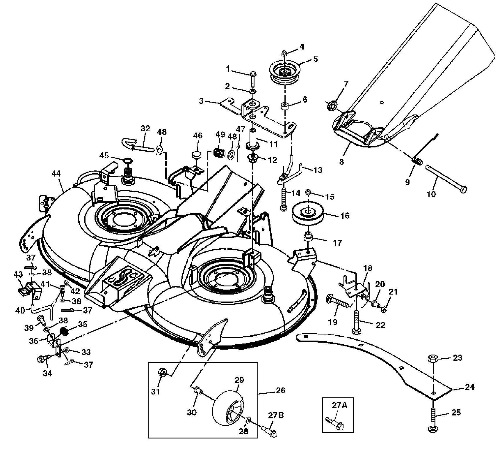 Mower parts gallery