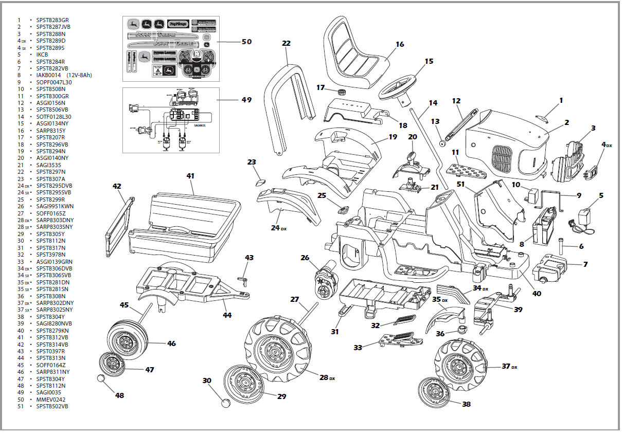 Get 100+ Wonderful John Deere La125 Parts Diagram Ideas