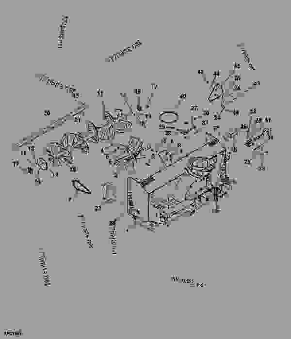 John Deere 47 Snowblower Parts Model. John. Tractor Engine