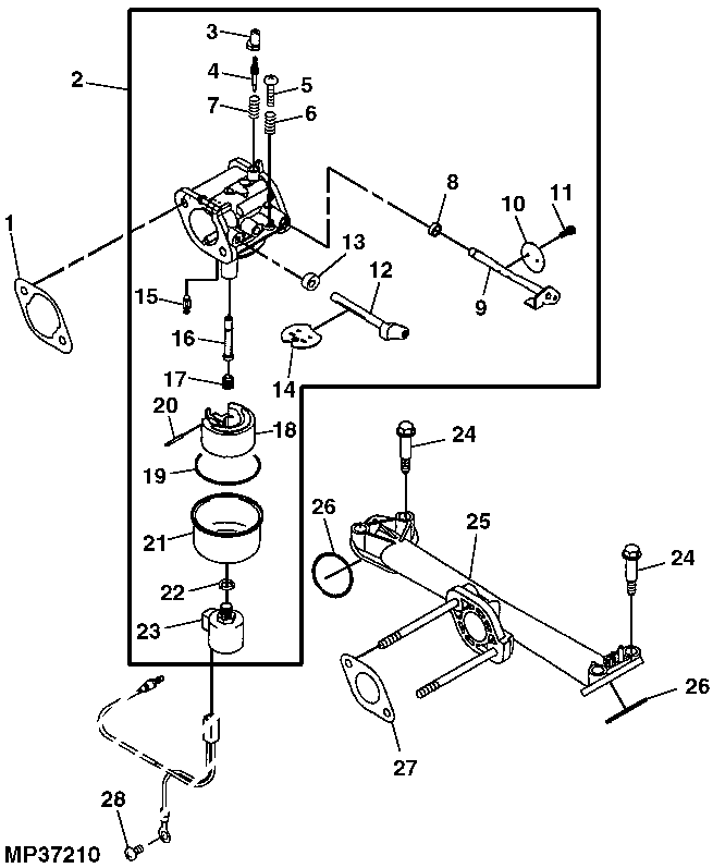 John Deere Model X300 Lawn And Garden Tractor Parts: John