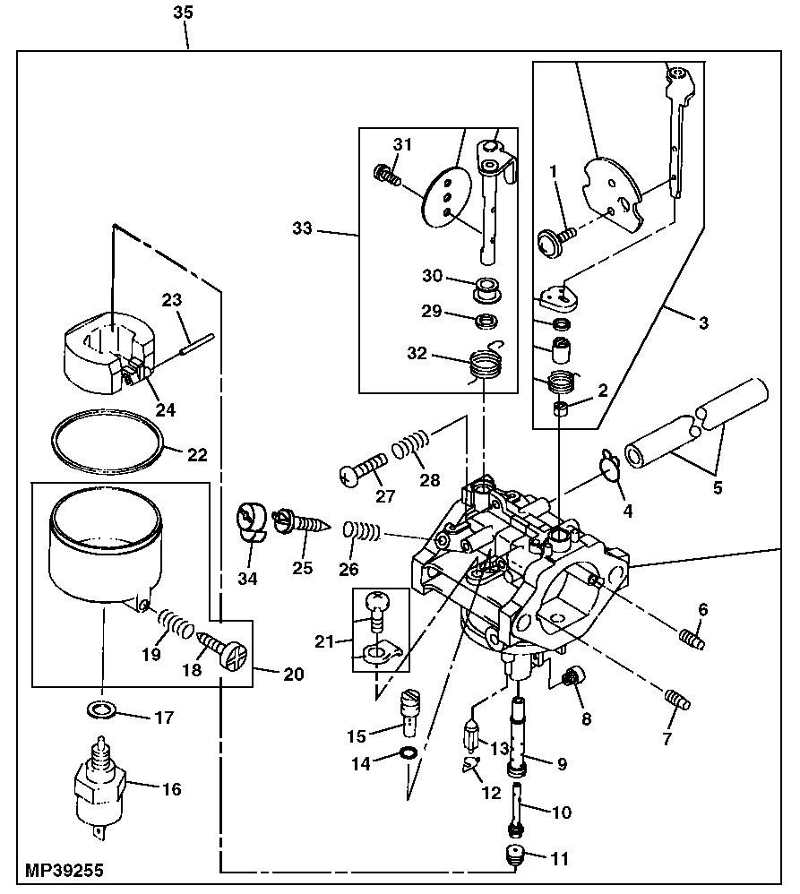 Wiring Diagram: 29 John Deere L130 Carburetor Diagram