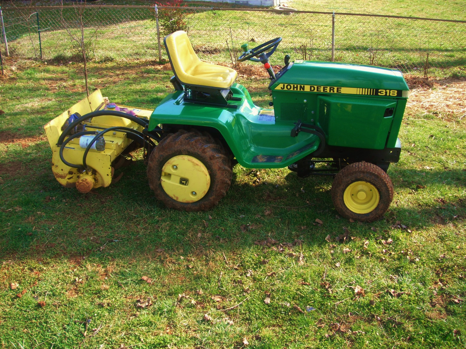 1969 john deere 140 wiring diagram nema l14 30 tiller attachment for garden tractor lawn ebay