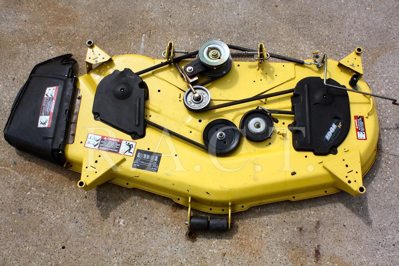 l130 mower deck belt diagram robertshaw thermostat 9610 wiring john deere 54 decks