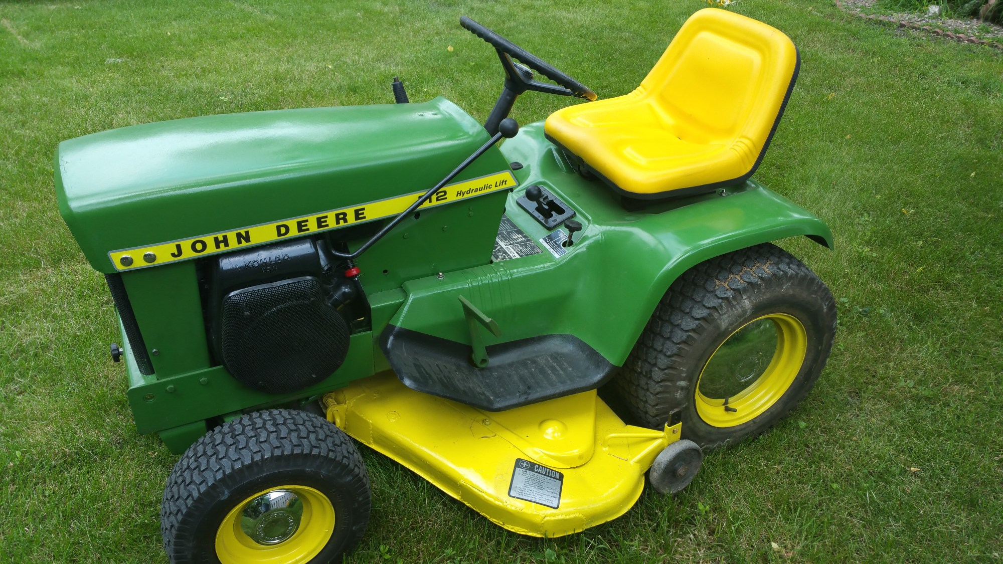 hight resolution of john deere 112 at steiner tractor parts