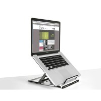 plastic laptop stand for desk - Review and photo