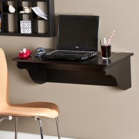 Space-Saving trick: wall mounted laptop desk - Review and ...