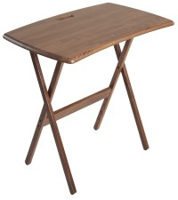 Small wooden laptop table - Review and photo