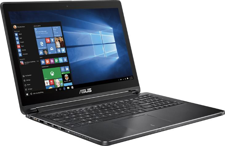 Asus Q552UB-BHI7T12 - 2 az 1-ben 15,6 Érintőképernyős Laptop - Intel Core i7 - 12GB memória - 1TB merevlemez - alumínium fekete