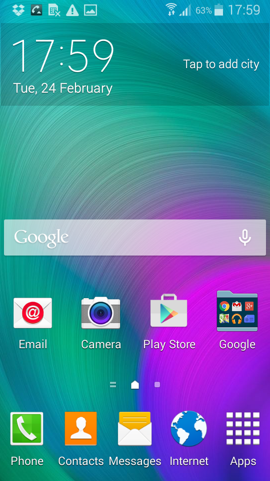 how to set crome.qs your.default brpwer in.samsung 5.0 lollipop