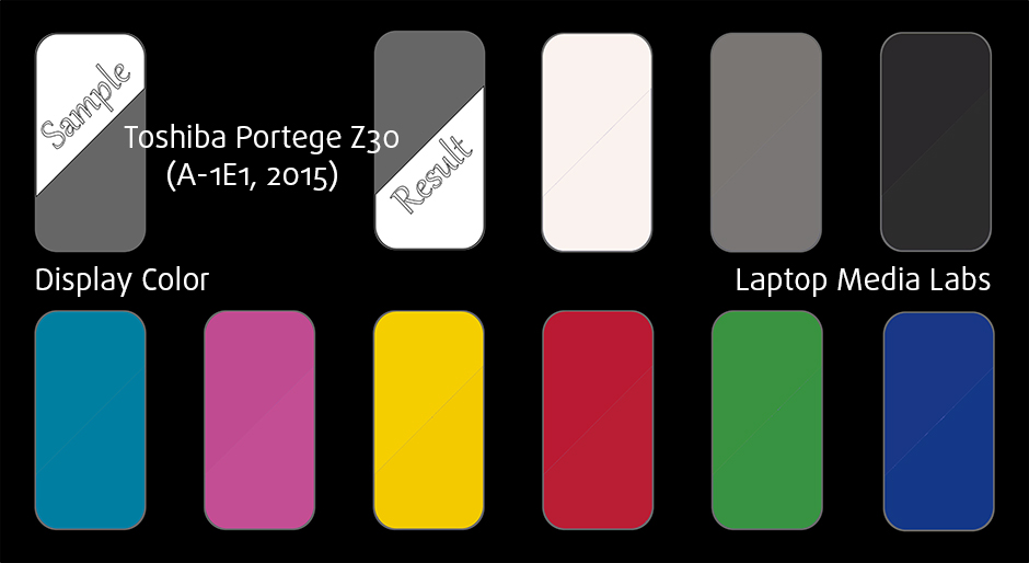 DisplayColor-Toshiba Portege Z30 (A-1E1, 2015)