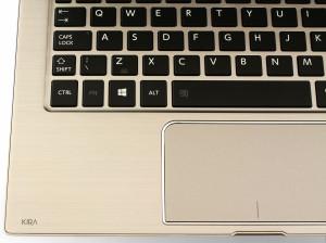 Toshiba Kira keyboard details1