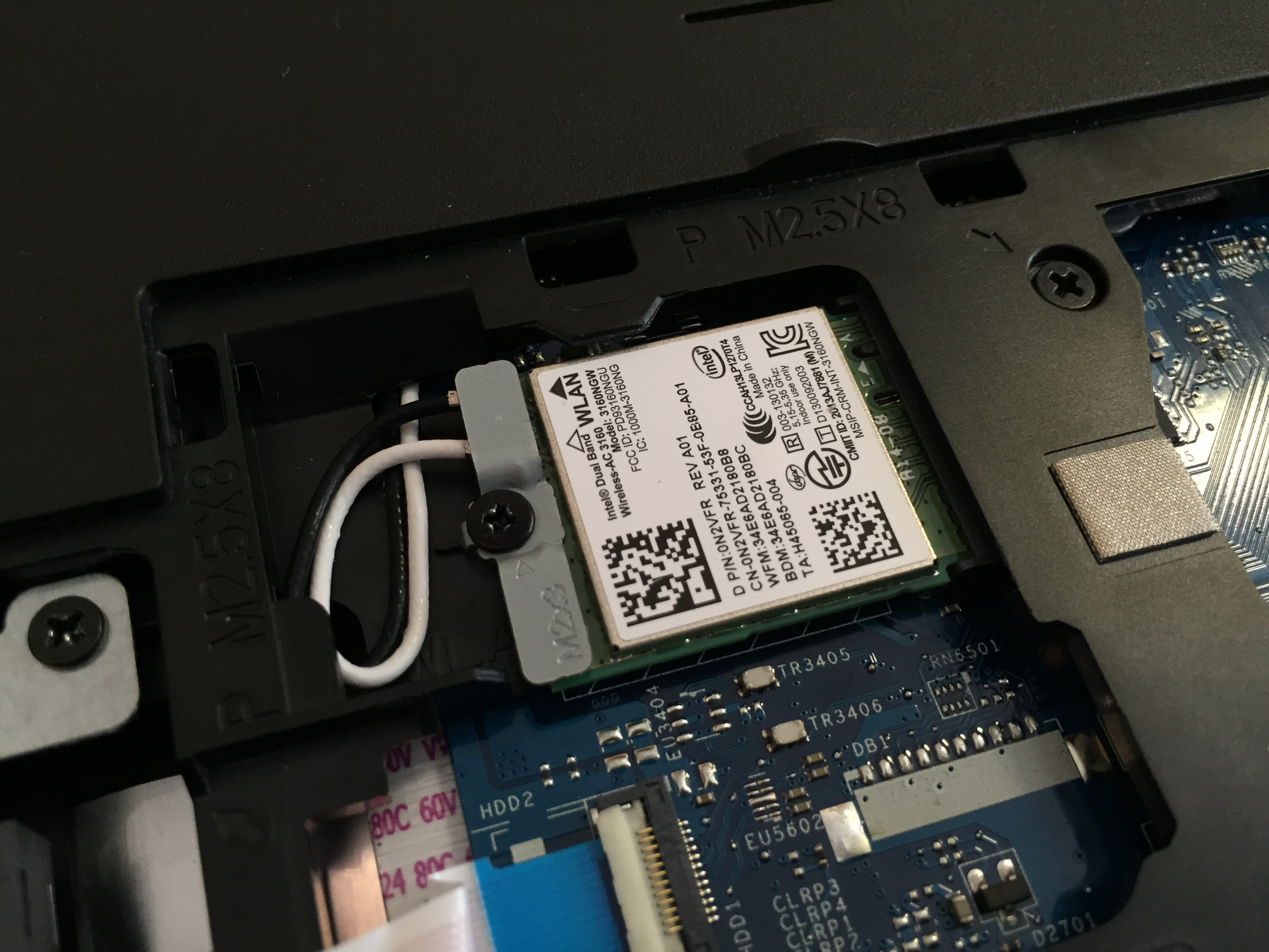 Inside Dell Inspiron 5558 15 5000 Disassembly