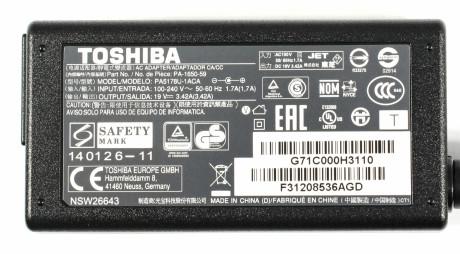 Toshiba Satelite L50 charger
