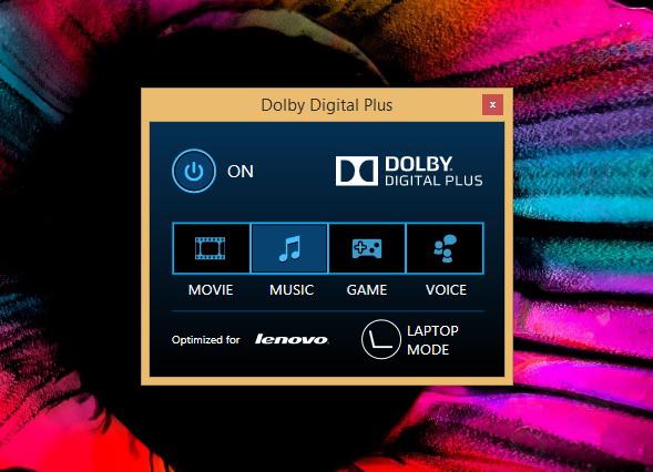 DolbyDigitalPlus-Lenovo Yoga 500 (14 inch)