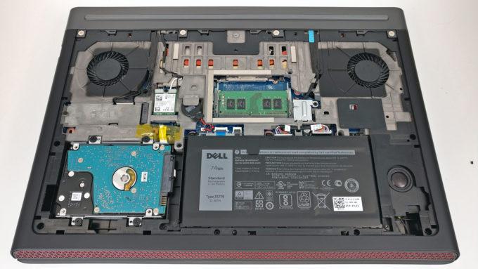 Inside Dell Inspiron 15 7567 Disassembly Internal