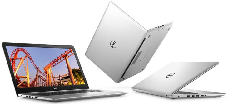 Dell Inspiron 15 5570 (Core I7-8550U, AMD Radeon 530