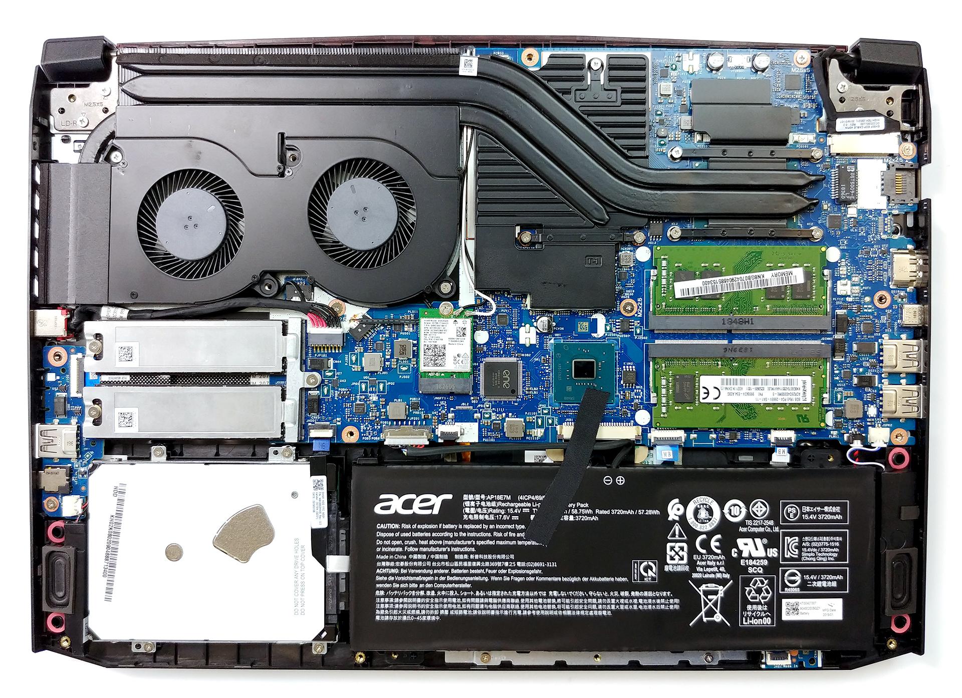 Acer Nitro 5 (AN515-54) (GeForce GTX 1660 Ti) review