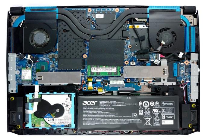 Inside Acer Predator Helios 300 17 2019 Ph317 53