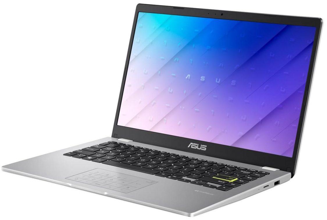 "ASUS E410 · Celeron N4020 · Intel HD Graphics · 14.0"", HD (1366 x 768), TN  · 64GB eMMC · 4GB DDR4 · Windows 10 Home · iCarp HDMI Cable | LaptopMedia  USA"
