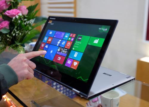 Lenovo Yoga 2 Pro màn hình siêu nét, pin lâu