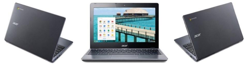 Chromebooks Acer C720