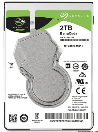 128MB Cache 2.5-Inch Internal Hard Drive