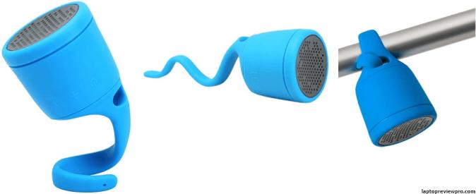 BOOM Swimmer Waterproof Bluetooth Speaker (Blue)