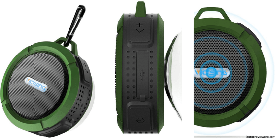 VicTsing Waterproof Outdoor Shower Speaker