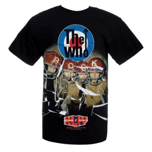 The Who Super Bowl T-Shirt! on the laptop sessions acoustic cover songs music video blog