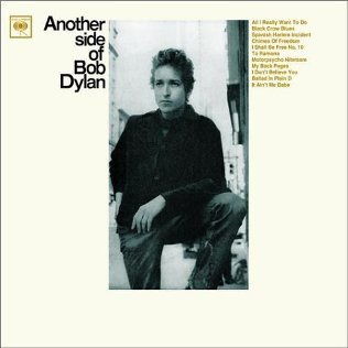 "Bob Dylan's ""Another Side of Bob Dylan"" (1964) the laptop sessions acoustic cover songs music video blog"