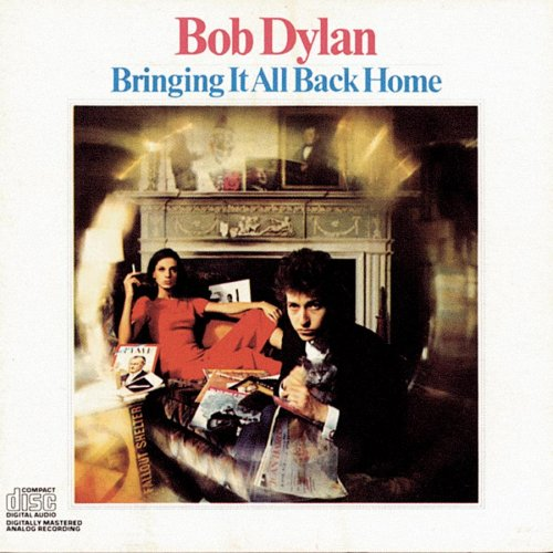 "Bob Dylan's ""Bringing It All Back Home"" (1965) the laptop sessions acoustic cover songs music video blog"